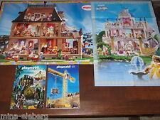 Playmobil POSTER Traumschloss 1998, Puppenhaus rosa serie 2000/1997 oder KATALOG