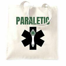 St. Patricks Tote Bag Paraletic joke Pun Paramedic Beer Tap Logo