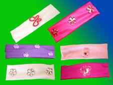 Kinder Haarband Haarschmuck Stirnband, Haargummi mit Applikationen, NEU one Size