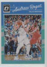 2016 Panini Donruss Optic Aqua #75 Andrew Bogut Dallas Mavericks Basketball Card