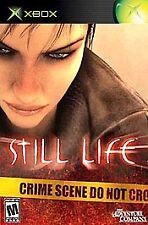 Still Life Microsoft Xbox, 2005 CIB COMPLETE THE ADVENTURE COMPANY 1 PLAYER