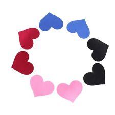 Heart Pasties Burlesque Self-Adhesive Jewellery Sticker #S7 Nipple Cover