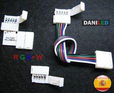 Conectores para tiras LED RGB+W RGBWW  RGBW 5PIN (ENVIO DESDE ESPAÑA)
