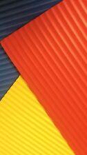 5 X WamiQ A4 CORRUGATED FUNKY ART & CRAFT FOAM SHEETS-CHOICE OF 10 COLOURS