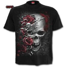 SPIRAL DIRECT CALAVERAS N ROSE camiseta/Tatuaje/Calavera/Rosas/Metal/Rebellion/