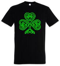 SHAMROCK IRISH KNOT I T-SHIRT Cloverleaf Irland Kleeblatt Knoten Runes Rune
