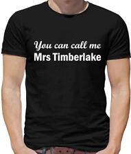 You Can Call Me Mrs Timberlake Mens T-Shirt - Film - Music - Singer
