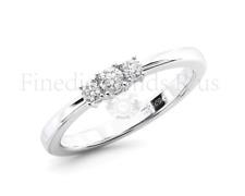 0.20CT Round Brilliant Cut Diamonds Engagement Ring Available in 950Platinum