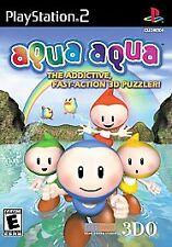 Aqua Aqua NEW factory sealed black label Sony PlayStation 2 PS2
