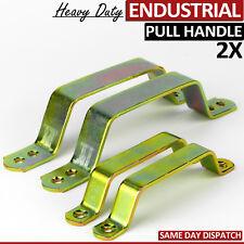 2 High Quality Steel Rustic Industrial Brass Door Pull Handle Vintage Commercial