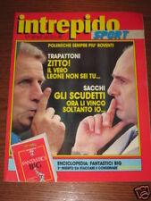 INTREPIDO SPORT 1988/46 CAUSIO BRUNO CONTI VAN BASTEN