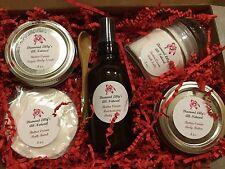 Spa Set, Body Mist, Bomb, Body Butter, Body Polish, Salts, Various Scents, 5pc