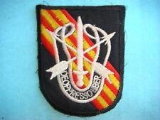 VIETNAM WAR SHOULDER PATCH, US 5th SF Gp DE-OPPRESSO LIBER