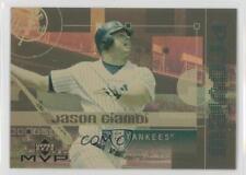 2003 Upper Deck MVP ProView Gold #GPV26 Jason Giambi New York Yankees Card