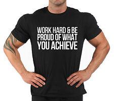 "T-Shirt Bodybuilding Fitness Palestra ""Work Hard...."""