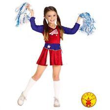 Rubies Cheerleader Costume Girls Retro S: Medium / Large