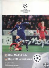 EC I 97/98 C.For Real Madrid - Bayer 04 Leverkusen