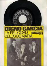 Digno Garcia   -    La Felicidad / Celos De Maria