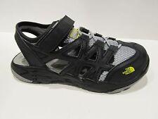 New Box Boys Girls North Face Black Grey Youth Hedgehog Summer Sandals 3 4 5 6