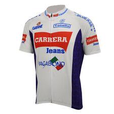 Retro Team  Carrera  Jersey Cycling Jersey Short Sleeve