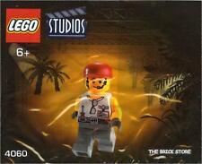LEGO STUDIOS - GRIP POLYBAG FIGURE + FREE GIFT - ULTRA RARE - FAST - SEALED