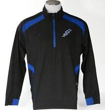 Nike Fit Storm Air Force Black & Blue Wind Shirt Windbreaker Mens Medium M NWT