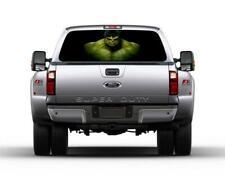 The Incredible Hulk Car Rear Window Decal See-Through Sticker Truck SUV Van 110