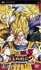 USED PSP Dragon Ball Z Shin Budokai 2 Japan