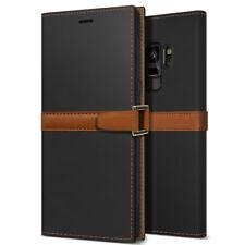 OBLIQ® Galaxy S9/S9 Plus [Z2 Wallet] Hand Made Leather Case Folio w/ Kickstand