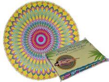 Large 150cm Round Beach Towel Bohemian Mandala Tapestry Hippie Yoga Mat Swimming
