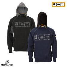 JCB Horton Heavyweight Hooded Top Mens Hoodie Sweatshirt Workwear Work Top Hoody
