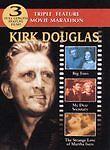 Kirk Douglas DVD Triple Bill: Big Trees/My Dear Secretary/The Strange Love o NEW