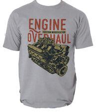 REVISIONE del motore T Shirt Retrò Mustang auto personalizzata Da Uomo T-shirt Tee S-3XL