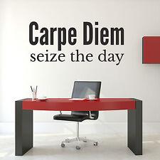 Carpe Diem Wall Sticker-Carpe Diem Wall Sticker