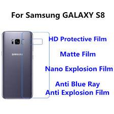 3pcs For Samsung Galaxy S8 Back Film Matte Anti Fingerprint Screen Protector
