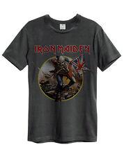 Amplified Iron Maiden - Trooper - Men's Charcoal T-Shirt