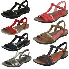 Clarks Ladies Casual Summer Sandals  - Tealite Grace