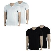 JOOP! 2 Pack Herren V-Neck T-Shirts TEE weiss schwarz Shirt S M L XL XXL