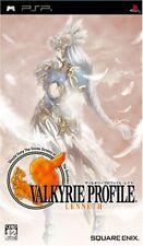 Valkyrie Profile: Lenneth ULJM05101 Sony PSP JAPAN OBI