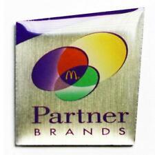 McDonald's Partner Brands Logo Lapel Pin