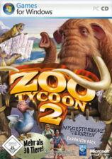 ZOO TYCOON 2 Add On: Ausgestorbene Tierarten  Expansion Pack für PC mit Heft