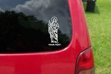 2 (PCS) Saint Jude Thaddeus San Judas Tadeo Sticker Decals 20 Colors