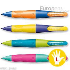 "Stabilo EASYergo 1.4mm Pencil ""BRIGHT NEON COLOURS"" Left Handed"