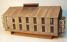 ENGINE HOUSE N Scale Model Railroad Structure Unptd Wood Laser Kit RSL3034