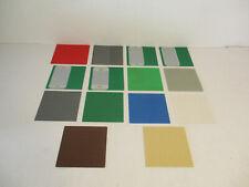 (Hauteur 15) Lego Plaques 3867 16x16 au Choix 6399 6162 6066 6085 1782 6369 3052