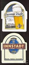 BD - Bierdeckel - Beermat , Innstadt Brauerei aus Passau / Bayern