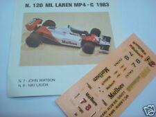 MC LAREN MP4 C 1983 WATSON-LAUDA  DECALS 1/43