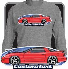 Custom Art long sleeve shirt 93-97 Pontiac Firebird Formula Firehawk Ws6 TransAm
