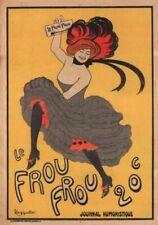 Vintage Advertisment Poster Le Frou Frou 20c WIA044 Art Print A4 A3 A2 A1
