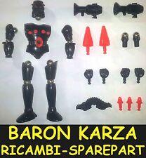 Baron Karza Pezzi di Ricambio e Accessori Spare Part Piece Micronauti Micronauts